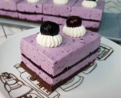 муссовый кето торт