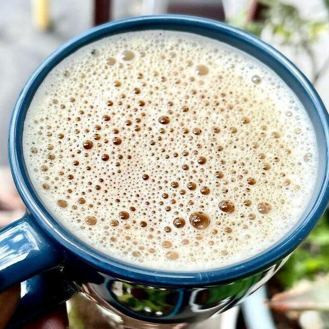 Миндальное бронекофе