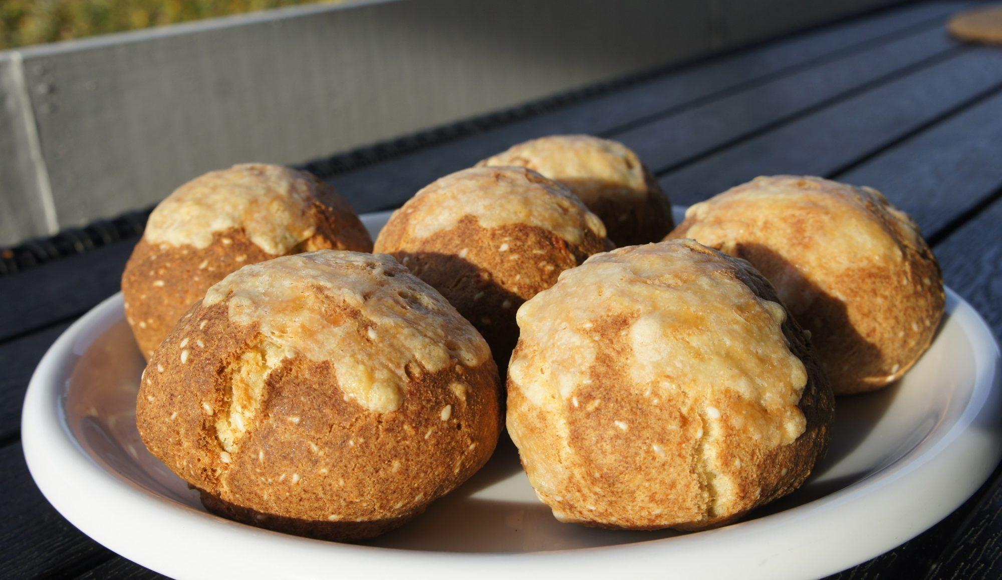 Сырные кето-булочки